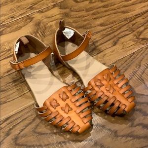 Old Navy Faux Leather Huarache Sandals